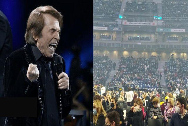 Concierto Covid: Causa polémica Raphael tras ofrecer concierto con más de 5 mil asistentes