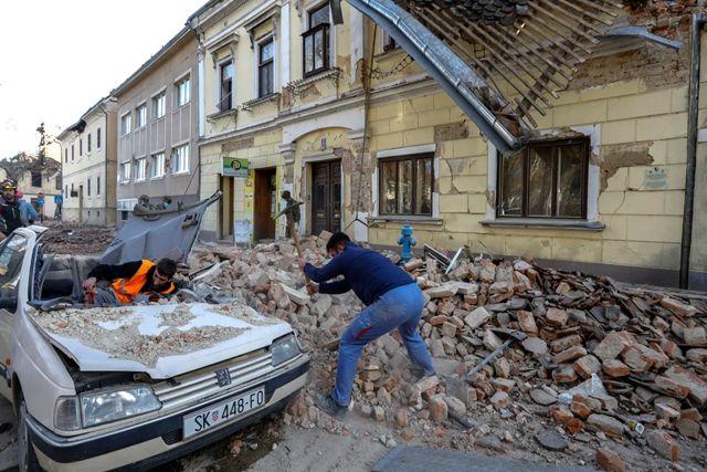 Terremoto en Croacia hace desaparecer la mitad de la ciudad