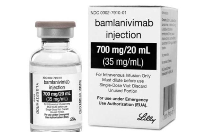 Fármaco de anticuerpos vs Covid de la Farmacéutica Eli Lilly reduce hasta un 80%
