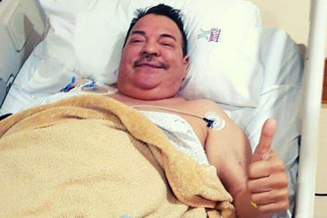 Hospitalizan a Julio Preciado por usar medicamento pirata