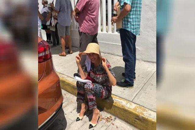 Fans de Florinda Meza la felicitan por hacer fila para recibir la vacuna vs el Covid-19