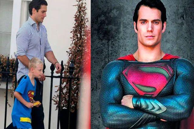 Sobrino de Henry Cavill es castigado en la escuela por decir que su tío era Superman