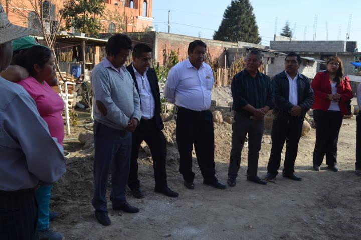 Acercamos más servicios básicos donde más se necesitan: Pluma Morales