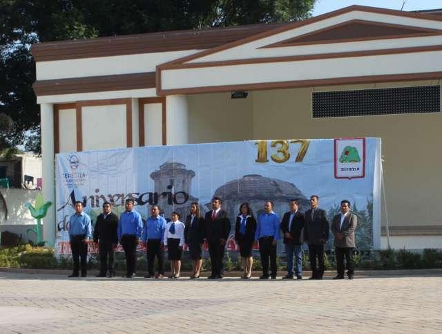 Conmemora  Gobierno de Tepetitla 137 Aniversario de la creación del Municipio