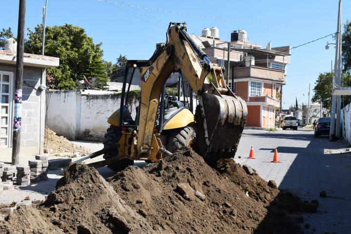 Inician obra de drenaje sanitario en Panotla