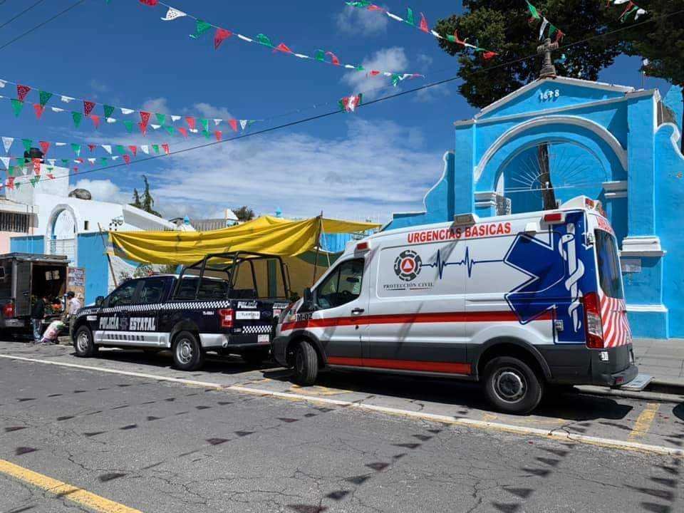 Protección Civil de Hueyotlipan se sumó al Macrosimulacro del 19s