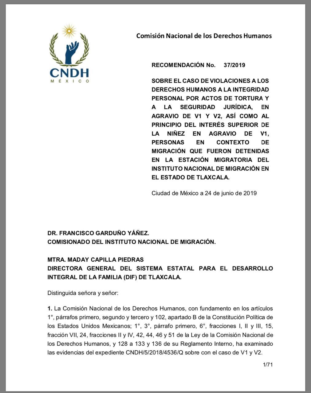 El INM cometió abusos físicos contra dos migrantes en Tlaxcala