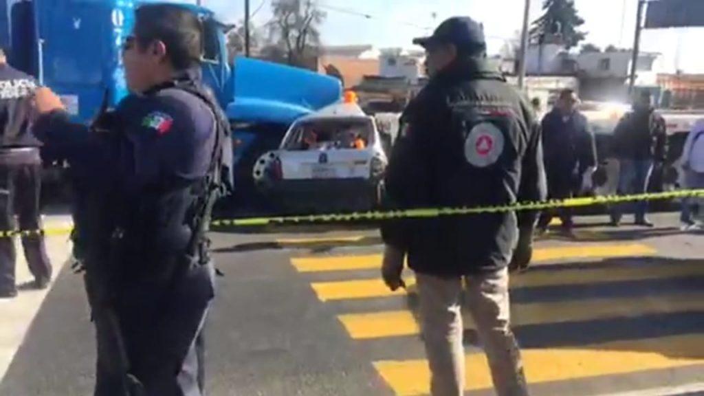 Tras choque por alcance dos pierden la vida en Huamantla