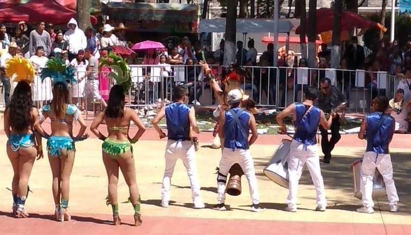 Fiesta y alegría en Tetla ante la celebración del carnaval 2020