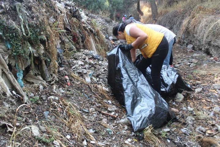 Santa Cruz Tlaxcala se une a la Campaña Limpiemos Nuestro México