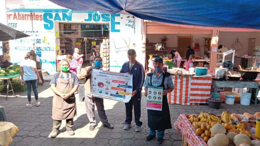 Suspende actividades Mercado de Panzacola los días 12 y 19 de abril