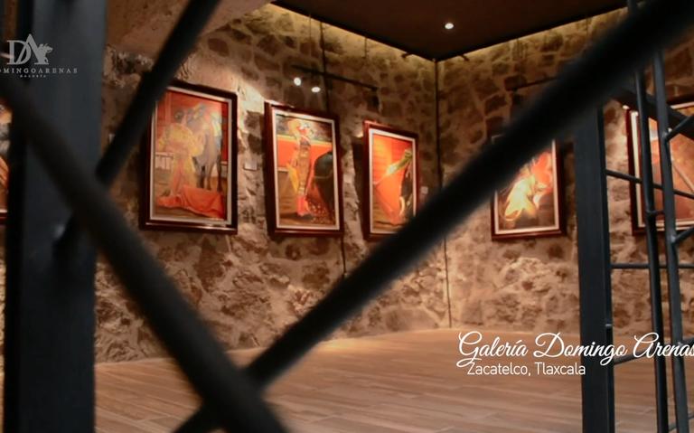 Zacatelco celebra el Segundo Aniversario de la Galería de Arte Domingo Arenas