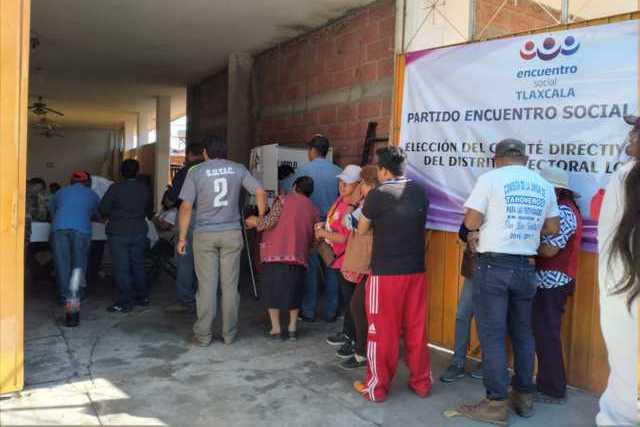 Gana planilla morada 5 distritos electorales donde realizaron asambleas del PEST