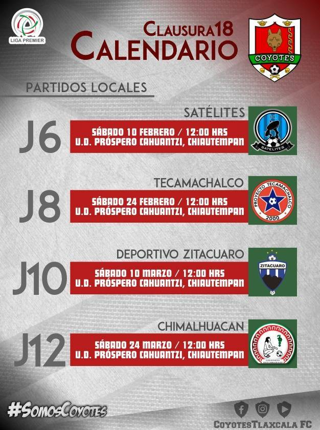 Coyotes de Tlaxcala arrancan Torneo de Clausura en Chiautempan