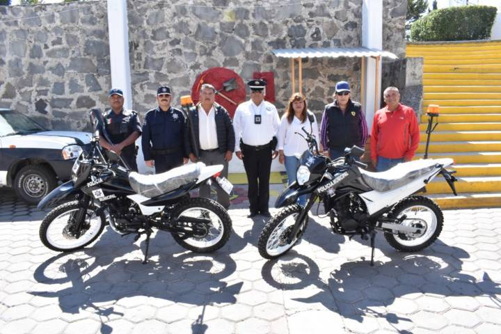 Ayuntamiento fortalece la seguridad con dos motos nuevas
