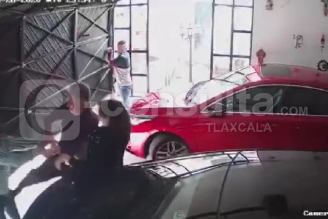 Circula video de asaltantes de Ocotlán
