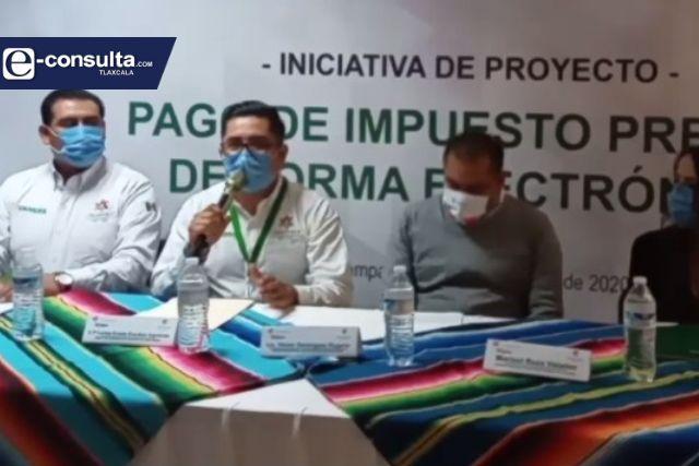 En Chiautempan implementan el pago electrónico del impuesto predial