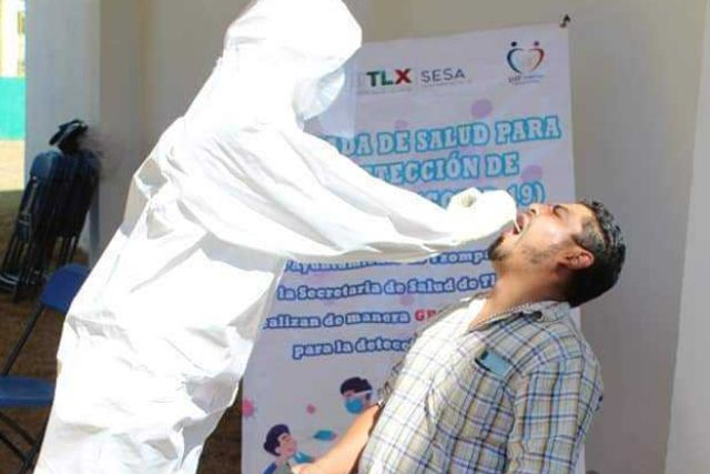 El 15 de abril habrá pruebas para detectar Covid en Tzompantepec