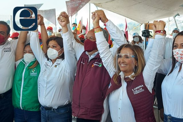 Juntos Haremos Historia es mucha pieza para la oposición: Lorena Cuéllar