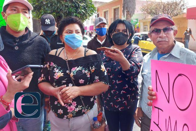El PRI no está jugando derecho, denuncian militantes