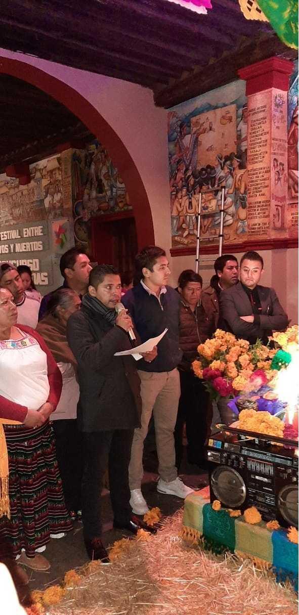 RJ Chiautempan triunfa en concurso de ofrendas Entre Vivos y Muertos