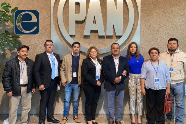 Asiste Cabildo electo de Apetatitlán a plenaria del CEN del PAN