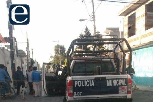 Sujeto se salva de ser linchado en Xicohtzinco