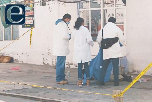 Masculino muere en la vía pública, era vecino de Totolac