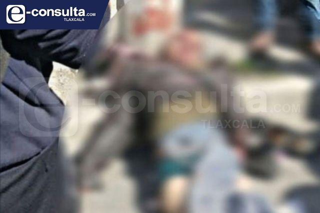 Sujeto apuñala a mujer y termina linchado en Cuapiaxtla