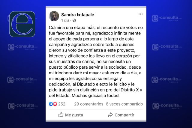 Felicita Sandra Ixtlapale el contundente triunfo de Caballero Yonca