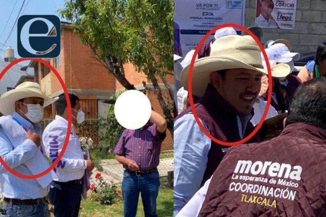 Político chaquetero incomoda a los izquierdistas; estaría filtrando información