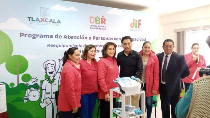 Unidad Básica de Rehabilitación Papalotla dentro de las mejores 5 en el estado
