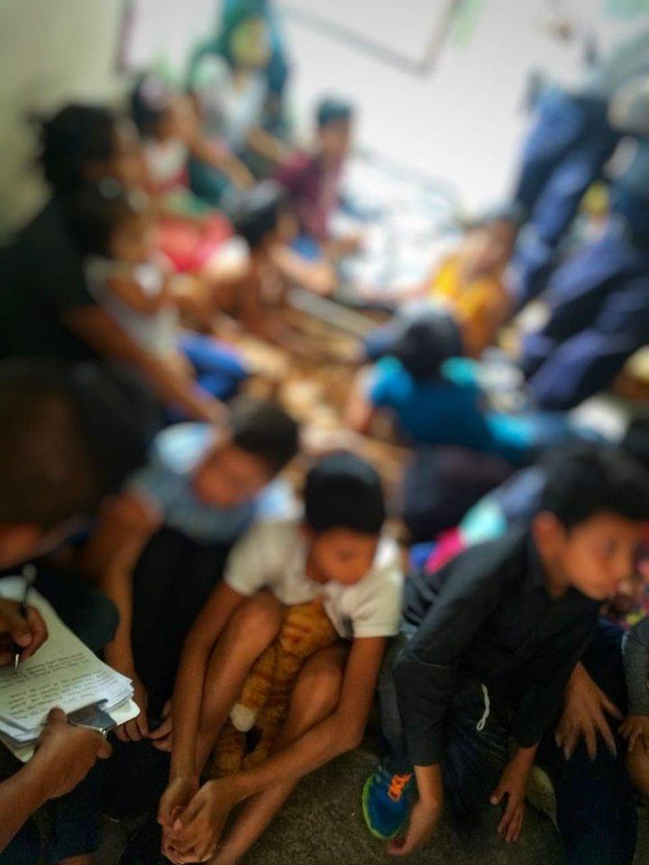 Liberan a 57 indocumentados secuestrados en Yauhquemehcan