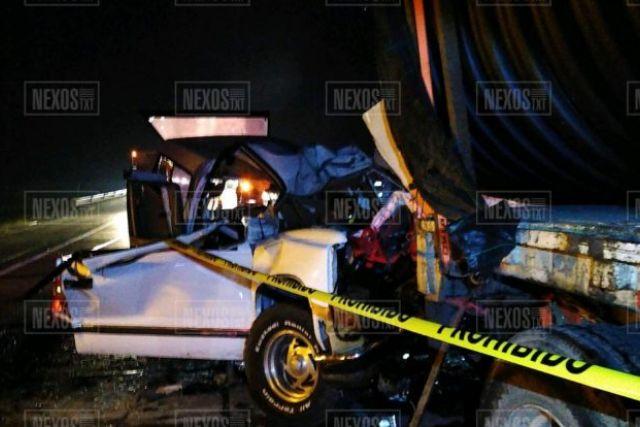 Dos muertos prensados y 5 heridos, deja nuevo encontronazo en el Arco Norte