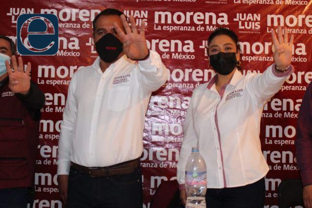 Juan Luis Hernández inicia campaña rumbo a la alcaldía de Tetla