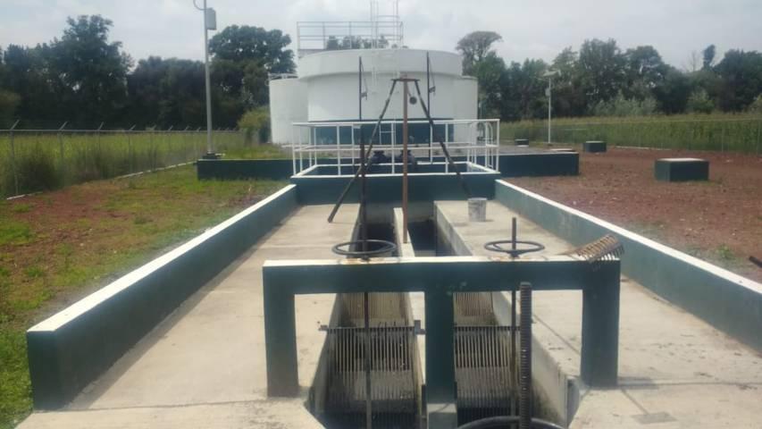 El dosificador en la planta de aguas negras mejorara el medio ambiente: alcalde