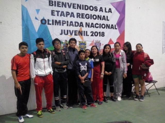 Aseguran tenismesistas tlaxcalteca tres a la ON 2018