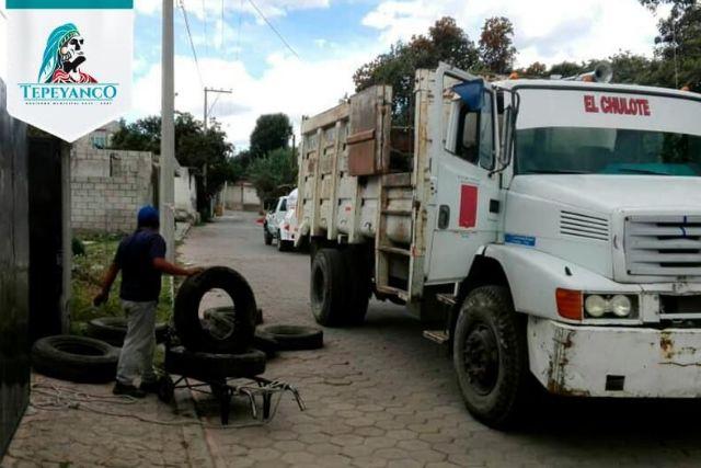 Sospechan que Bladimir se transó un camión recolector de basura