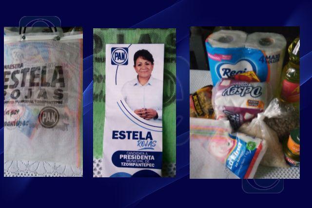 Candidata panista de Tzompantepec como la Chimoltrufia