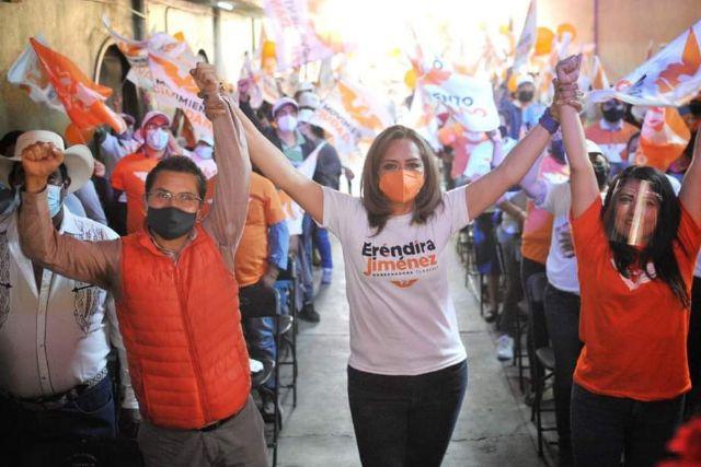 Mi candidatura es irreductible e Indeclinable: Eréndira Jiménez