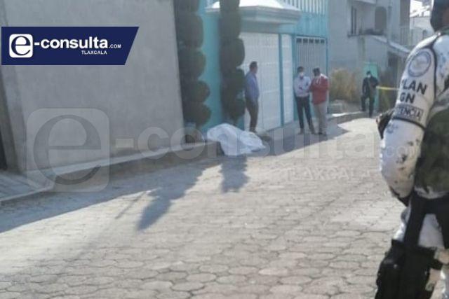 Asesinan a balazos a un masculino en Tenancingo