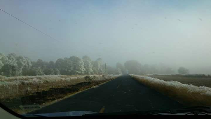 Continuará el frío durante las próximas 24 horas en Tlaxcala
