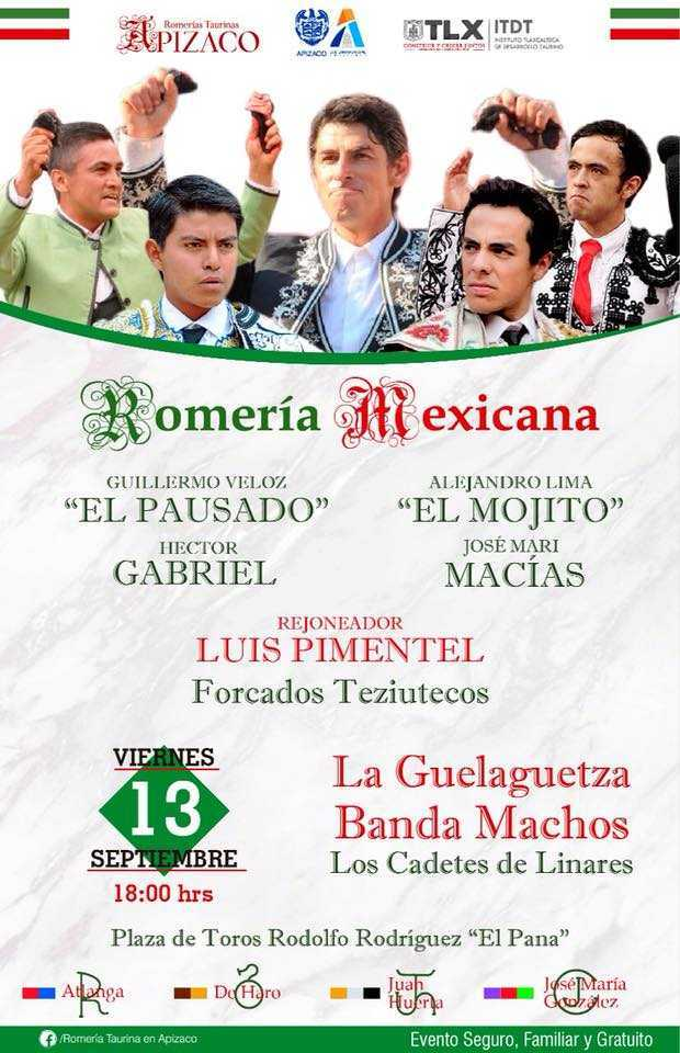 A un día de la Romería Mexicana Apizaco
