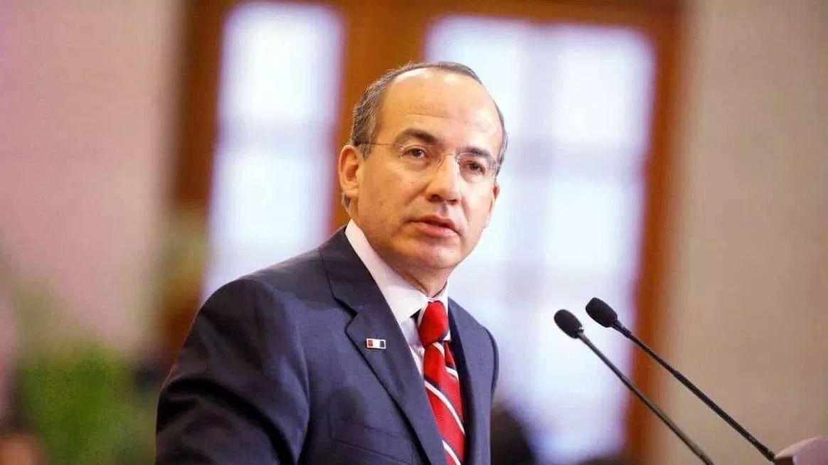 Felipe Calderón exige AMLO que si no tiene pruebas que guarde silencio