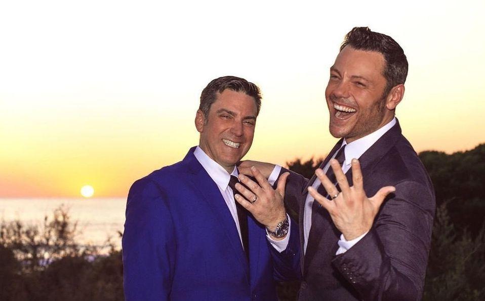 Tiziano Ferro se casa en boda secreta con su novio