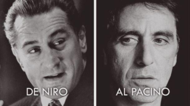 Robert de Niro y Al Pacino prueban controvertido método de rejuvenecimiento digital