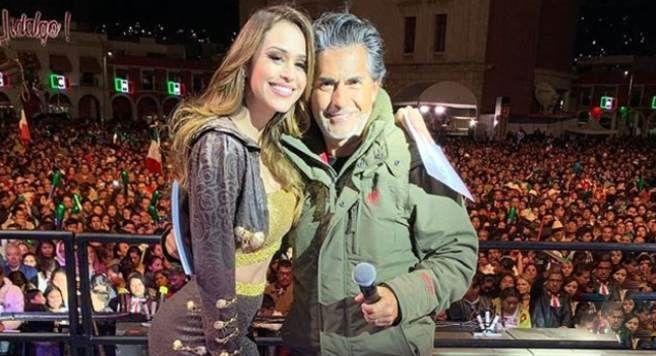Raúl Araiza sorprende a Yanet García el día de su cumpleaños