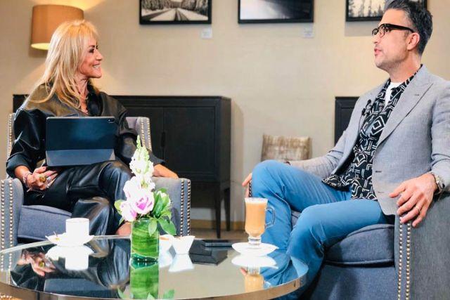 Jaime Camil habla de la ruptura amorosa del hijo de Adela Micha
