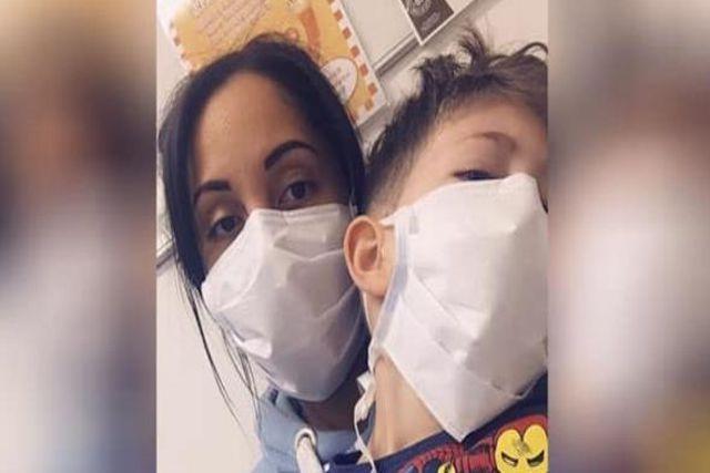 Madre de infectado teme por la vida de su hijo y rompe en llanto