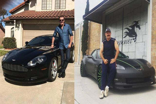 Sergio Goyri pese a la falta de trabajo en la TV, presume arreglar autos clásicos en su taller